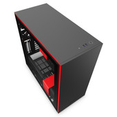 NZXT H710 Zwart/Rood