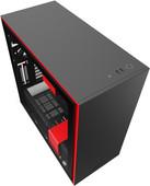 NZXT H710 i Zwart/Rood