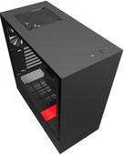 NZXT H510 Zwart/Rood