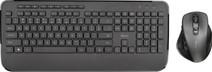 Trust Mezza Wireless Keyboard and Wireless Mouse Black