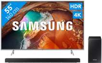 Samsung QE55Q64R - QLED + Soundbar
