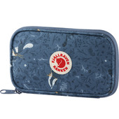Fjallraven Kånken Art Travel Wallet Blue Fable