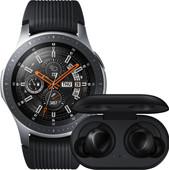 Samsung Galaxy Watch 46mm Silver + Samsung Galaxy Buds