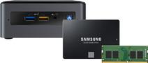 Barebone pakket - Intel NUC8i3BEH 8GB RAM + 1TB SSD