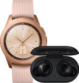 Samsung Galaxy Watch 42mm Rose Gold + Samsung Galaxy Buds