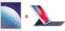 Apple iPad Air (2019) 10.5-inch Silver 64GB WiFi + Smart Keyboard