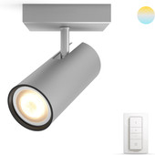 Philips Hue Buratto Spot Gray with Dimmer