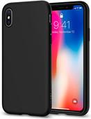 Spigen Liquid Crystal Apple iPhone X Back Cover Black