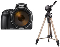 Nikon COOLPIX P1000 + Hama Star 63 Tripod