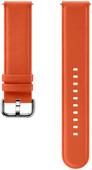 Samsung Galaxy Watch Active 2 Leren Bandje Oranje