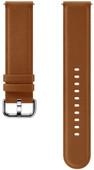 Samsung Galaxy Watch Active 2 Leren Bandje Bruin