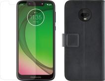 Motorola Moto G7 Play Zwart + Beschermingspakket