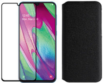 Samsung Galaxy A40 64 GB Zwart + Beschermingspakket