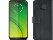 Motorola Moto G7 Power Black + Protection Package