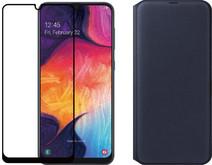 Samsung Galaxy A50 Zwart + Beschermingspakket