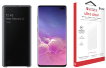 Samsung Galaxy S10 Plus 128GB Black + Protection Package