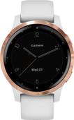Garmin Vivoactive 4S - Rosé Goud/Wit - 40 mm