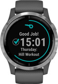 Garmin Vivoactive 4L - Silver/Dark gray - 45mm