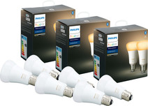 Philips Hue White Ambiance E27 Bluetooth 6-Pack