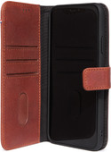Decoded 2-in-1 Apple iPhone 11 Book Case Leather Brown