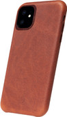 Decoded Apple iPhone 11 Back Cover Leather Brown