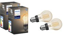 Philips Hue Filamentlamp White Standaard E27 Bluetooth Duo Pack