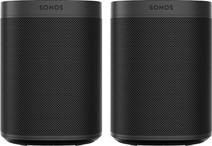 Sonos One SL Duo Pack Zwart