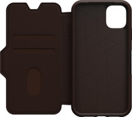 Otterbox Strada iPhone 11 Book Case Brown