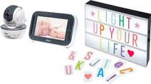 Alecto DVM-200 + Alecto Letter Light Box