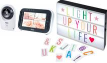 Alecto DVM-143 + Alecto Letter Light Box
