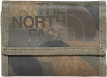 The North Face Base Camp Wallet Burnt Olive Green Woods Camo Print