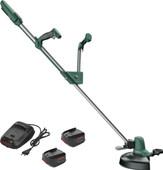 Bosch EasyGrassCut 18 met 2x 18 volt 1,3 Ah accu