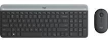 Logitech MK470 Slim Wireless Keyboard and Mouse Gray QWERTY