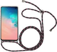 StilGut Samsung Galaxy S10e Back Cover met Koord Transparant