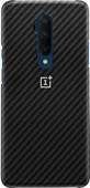 OnePlus 7T Pro Karbon Protective Case Back Cover Black