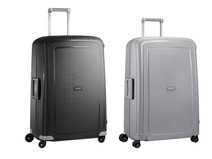 Samsonite S'Cure Spinner 75cm Black + 75cm Silver kofferset