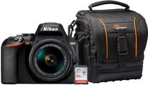 Nikon D3500 + 18-55 f/3.5-5.6 VR starterkit