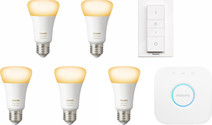 Philips Hue White Ambiance Starter Pack E27 - 5 lights