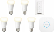 Philips Hue White Starter Pack E27 - 5 lampen