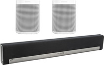 Sonos Playbar 5.1 + One SL (2x) Wit