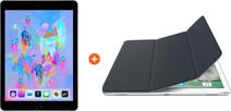 Apple iPad (2018) 32 GB Wifi Space Gray + Smart Cover