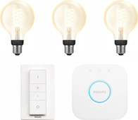 Philips Hue Filamentlamp White Globe E27 Bluetooth Starter Pack