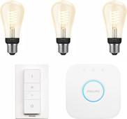 Philips Hue Filamentlamp White Edison E27 Bluetooth Starter Pack