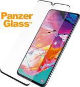PanzerGlass Case Friendly Samsung Galaxy A70 Screenprotector Glas Zwart
