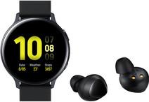Samsung Galaxy Watch Active2 Zwart 40 mm + Samsung Galaxy Buds Zwart