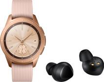 Samsung Galaxy Watch 42 mm Rose Gold + Samsung Galaxy Buds