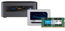 Barebone pakket - Intel NUC8i3BEH 16GB RAM + 1TB SSD