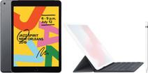 Apple iPad (2019) 128 GB Wifi Space Gray + Smart Keyboard + Pencil
