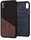 Nordic Elements Frejr Apple iPhone Xr Back Cover Brown / Wood