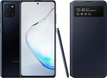 Samsung Galaxy Note 10 Lite Zwart + Samsung S View Wallet Cover Zwart